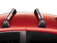 Set 2 bare transversale portbagaj Renault Clio 3 5Usi 2005- din Aluminiu , bare transversale originale Renault