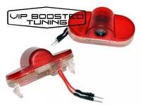 Set 2 Lampi Led Proiector Cu Logo Pentru Portiere VW Golf IV 1997-2003