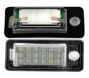 Set 2 lampi numar cu LED AUDI A3 / S3 8P 2003-2012