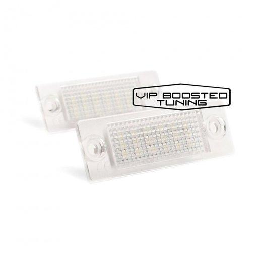 Set 2 lampi numar led canbus dedicate Superb I 02-08