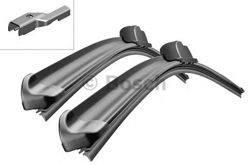 Set 2 stergatoare, Bosch, 600mm+475mm, VW Golf V 2005-2012