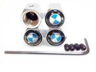 Set 4 capacele ventil roti BMW antifurt