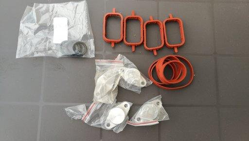 Set 4 dopuri 22mm anulare clapete (swirl flaps) galerie admisie BMW 2.0 diesel