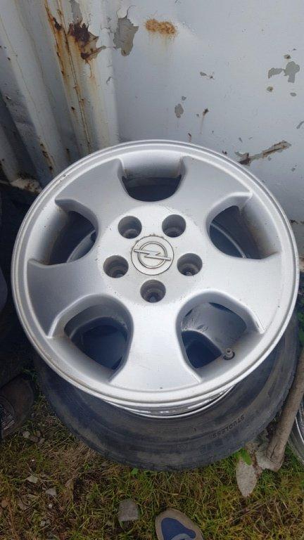 Set 4 jante aliaj - R15 - Opel Astra G - 5 prezoane
