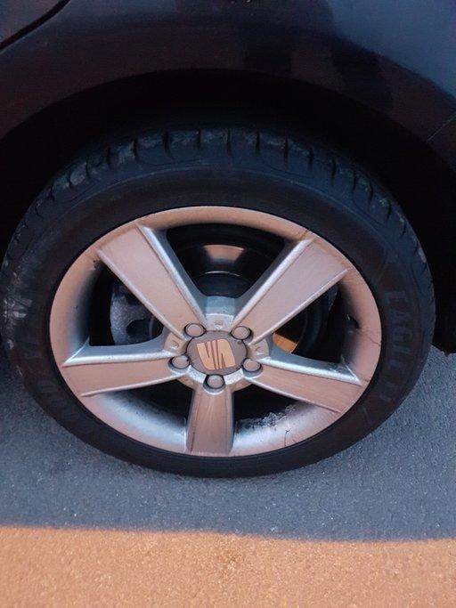 """Set 4 jante aliaj roti 17"""" 5x112 Seat Leon Toledo Altea Originale Skoda Octavia 2 VW golf 5"""