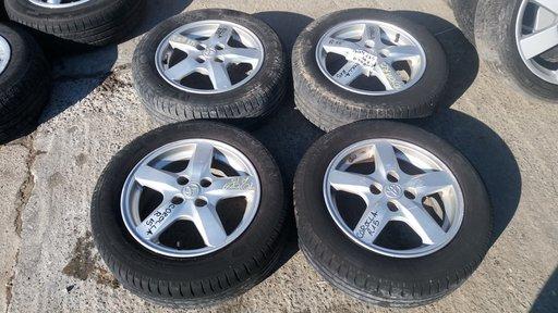 Set 406 - Jante aliaj Toyota Corolla, R15, 4 x 100 - cod TOY-4A-4