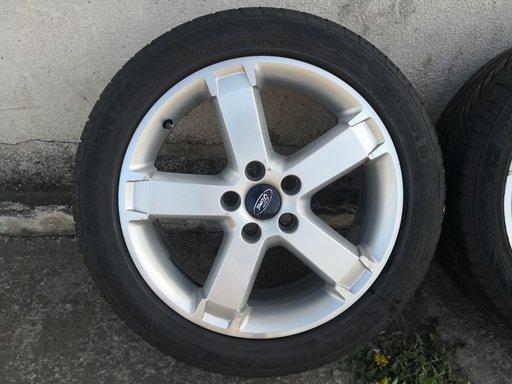 SET 5 BUC Jante Ford 17''-5X108 CAUCIUCURI DE VARA 205/50ZR17