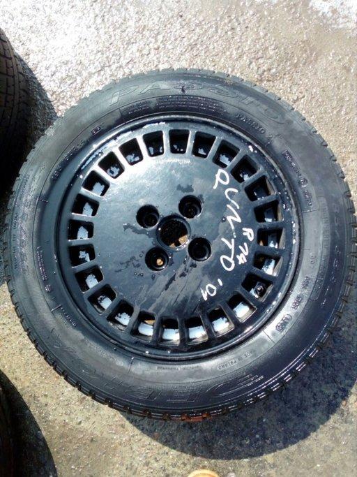 Set 8032 - FIAT PUNTO 185/65 R14 86T, 6Jx15 ET43, 4x100