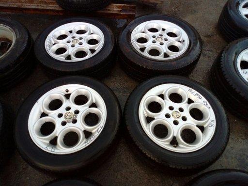 Set 8067- Jante aliaj Alfa Romeo 156, 6 1/2jx16H2, C-41,5, 5x108. 215/60/R16