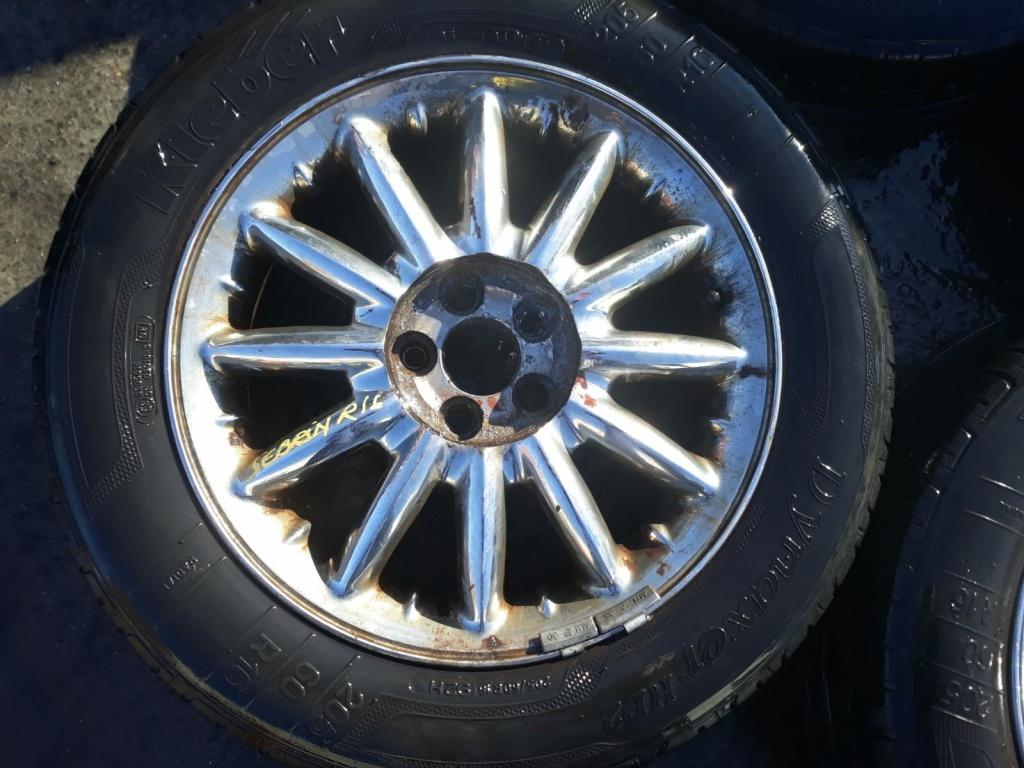 Set 8260 - Jante aliaj Chrysler Sebring 205/60 R16, 16x6.5j-44, 5x100
