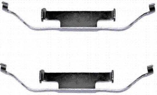 Set accesorii, etrier frana BMW Z1, BMW 3 Compact (E36), BMW 3 limuzina (E36) - HELLA PAGID 8DZ 355 201-141