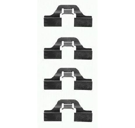 Set accesorii, placute frana ALFA ROMEO SPIDER ( 916, 916S ) 09/1994 - 04/2005 - producator TEXTAR 82037300 - 301461 - Piesa Noua