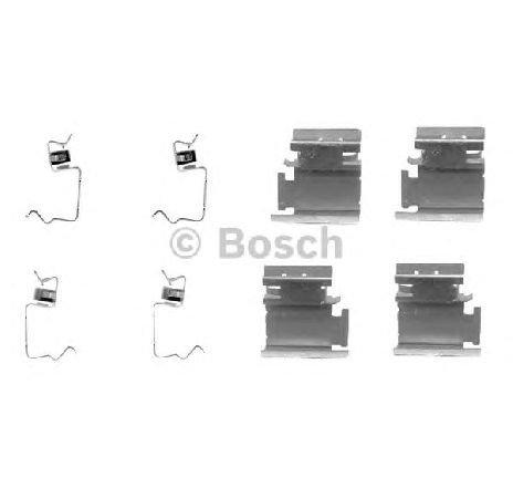 Set accesorii, placute frana FIAT DOBLO CARGO ( 223 ) 11/2000 - 2019 - piesa NOUA - producator BOSCH 1 987 474 311 - 304743