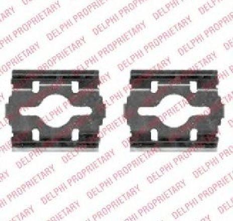 Set accesorii, placute frana IVECO DAILY III platou / sasiu 05/1999 - 04/2006 - producator DELPHI LX0409 - 309524 - Piesa Noua