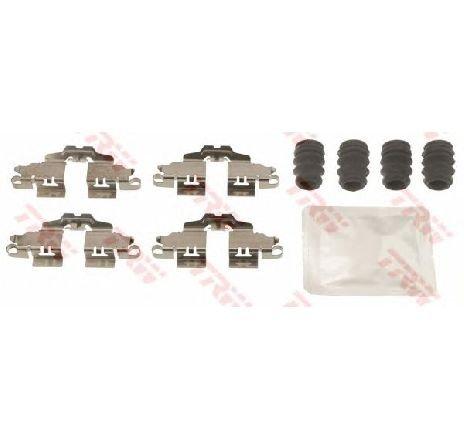 Set accesorii, placute frana LEXUS CT ( ZWA1 ) 12/2010 - 2019 - piesa NOUA - producator TRW PFK645 - 309014