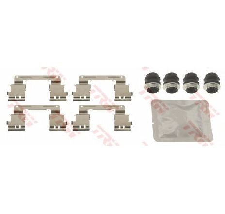 Set accesorii, placute frana LEXUS GS ( GRS19, UZS19, URS19, GWS19 ) 04/2005 - 11/2011 - producator TRW PFK670 - 305433 - Piesa Noua