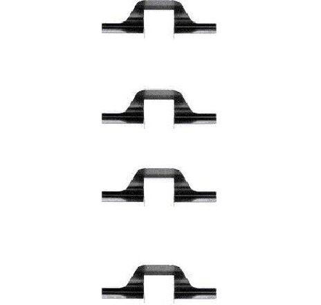 Set accesorii, placute frana SEAT CORDOBA ( 6K2 ) 06/1999 - 10/2002 - piesa NOUA - producator TEXTAR 82033000 - 304327