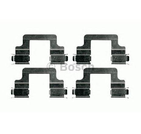 Set accesorii, placute frana SEAT LEON ( 5F1 ) 09/2012 - 2019 - producator BOSCH 1 987 474 685 - 310734 - Piesa Noua