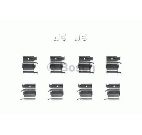 Set accesorii, placute frana SUZUKI GRAND VITARA I ( FT ) 03/1998 - 09/2005 - piesa NOUA - producator BOSCH 1 987 474 381 - 304097