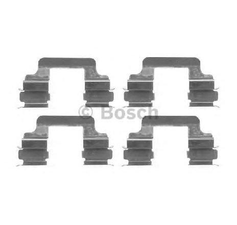 Set accesorii, placute frana VW TRANSPORTER VI BUS ( SGB, SGG, SGJ ) 04/2015 - 2019 - producator BOSCH 1 987 474 402 - 314350 - Piesa Noua