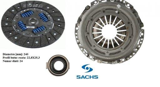 Set ambreiaj -disc+placa+rulment pentru Subaru 2.0 Diesel 2008-2015 SACHS - Germany -