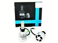 Set Bec H3 cu LED S2 chip led 40W - 4800 lumen 6000k 12-24V