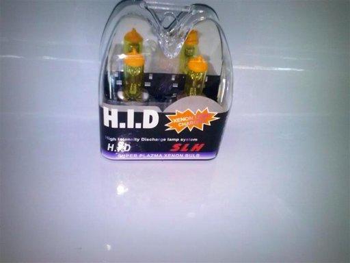 Set bec halogen H3 12V 55W galben