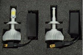 Set bec LED ART X01 H4 9-16V 6000k
