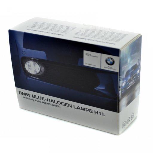 Set Becuri Oe Bmw Blue Halogen Lamps H11 2 Buc 63112352235