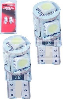 SET BECURI TIP LED T10 12V - CARPRISS - 79780291