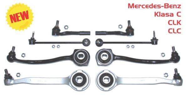 Set brate punte fata Mercedes C Class W203