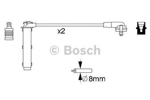 Set cablaj aprindere FORD ESCORT V (07/90-12/92) RS 2000 - OEM-STARLINE: ZK 4626 - Cod intern: W02594224