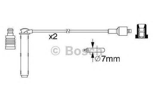Set cablaj aprindere LAND ROVER FREELANDER (02/98-10/06) 1.8 16V 4x4 - OEM-STARLINE: ZK 5562 - Cod intern: W02594281
