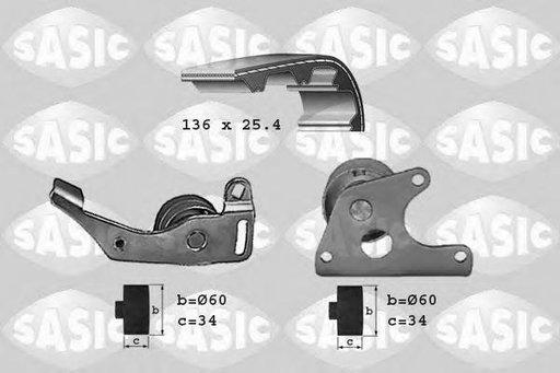 Set curea de distributie CITROËN XANTIA (X1), ROVER 200 hatchback (XW), LADA NIVA (2121) - SASIC 1750001