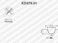 Set curea de distributie DAIHATSU MOVE (L6, L9), DAIHATSU STORIA (M1), DAIHATSU MIRA VI (L7_) - SNR KD479.01