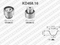 Set curea de distributie LANCIA DEDRA (835), LANCIA DELTA Mk II (836), ALFA ROMEO 145 (930) - SNR KD458.16