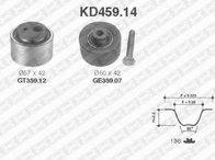 Set curea de distributie PEUGEOT 806 (221), CITROËN XANTIA (X1), CITROËN ZX (N2) - SNR KD459.14