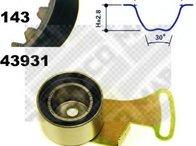 Set curea de distributie ROVER 100 / METRO (XP), ROVER 100 Cabriolet (XP), ROVER 200 hatchback (XW) - MAPCO 23938