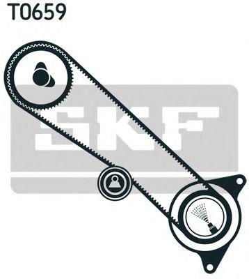 Set curea de distributie TOYOTA 4 RUNNER Turbo-D - OEM-SKF:VKMA 91713 - Cod intern: W00382279