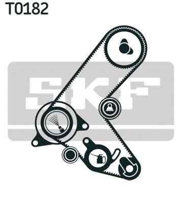 Set curea de distributie VAUXHALL ASTRA GTC Mk VI (J) SKF VKMA 05609