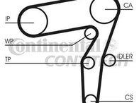 Set curea distributie CT968K2 Fiat Punto 1.9JTD (188) 1999-