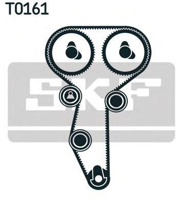 Set curea distributie RENAULT 2,0 16V 00- SCENIC 128 - OEM-SKF: VKMA 06108|VKMA06108 - Cod intern: W02356650