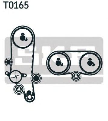 Set curea distributie VW BORA 1,4 98- - OEM-SKF: V