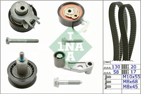Set Curea Distributie VW GOLF 5 1.4 16V
