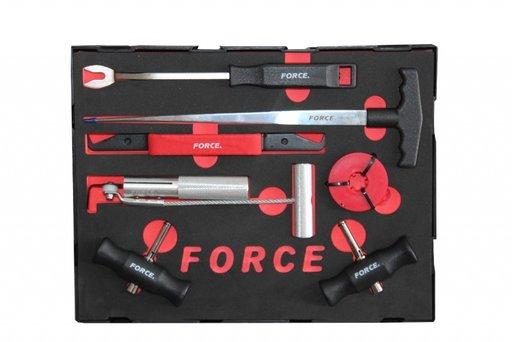 Set de scule pentru demontat parbrize - 907M1 - FORCE.