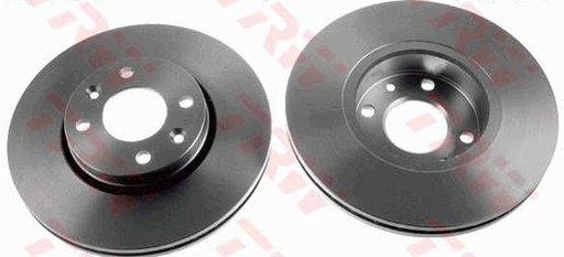 Set discuri frana fata 260x22mm Logan / Logan MCV / Logdan Express / Sandero / Megane II /Clio / Clio II