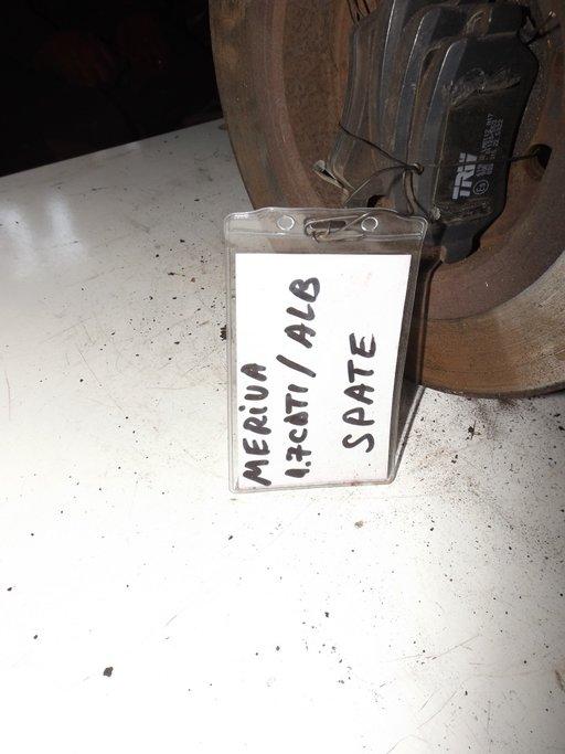 SET DISCURI FRINA SPATE CU PLACUTE OPEL MERIVA 1.7 CDTI Z17DTH 2006