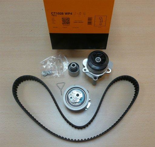 Set distributie + pompa apa Audi A4 1.9 TDI 2000 - 2004 CONTITECH CT1028WP4