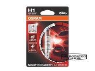 Set doua becuri halogen H1 OSRAM Night Breaker Unlimited