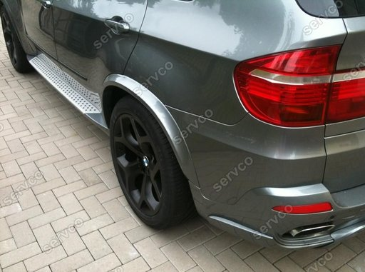 Set evazari bosaje aripi wide body kit aripi BMW X5 E70 Aero Mtech